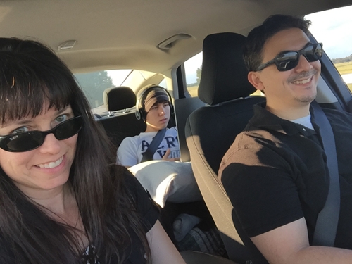 In the Car Selfie