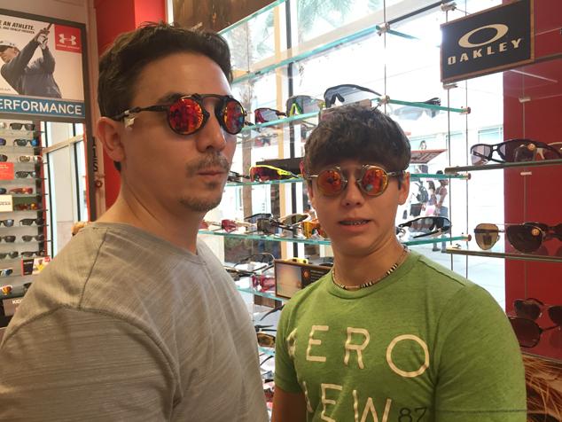 sunglasses shopping