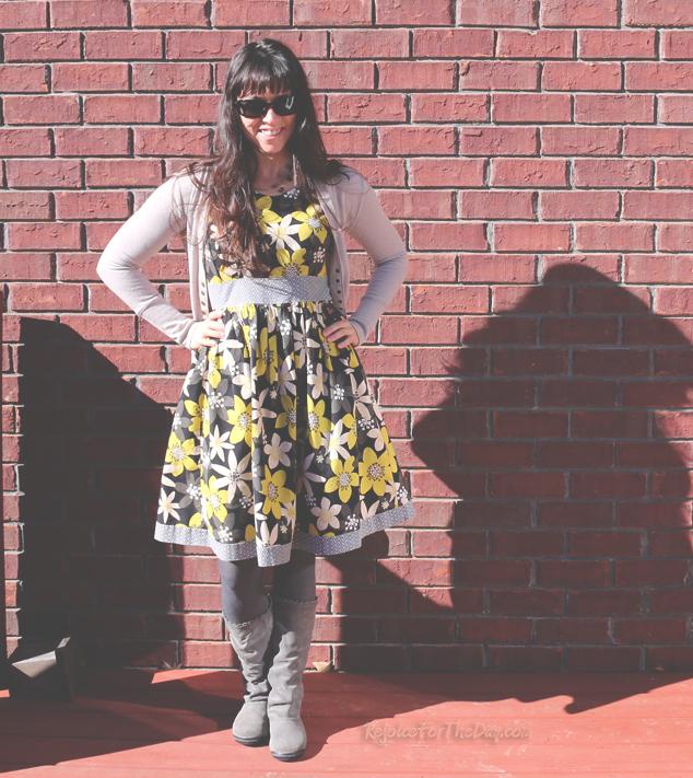 retro style dressmaker