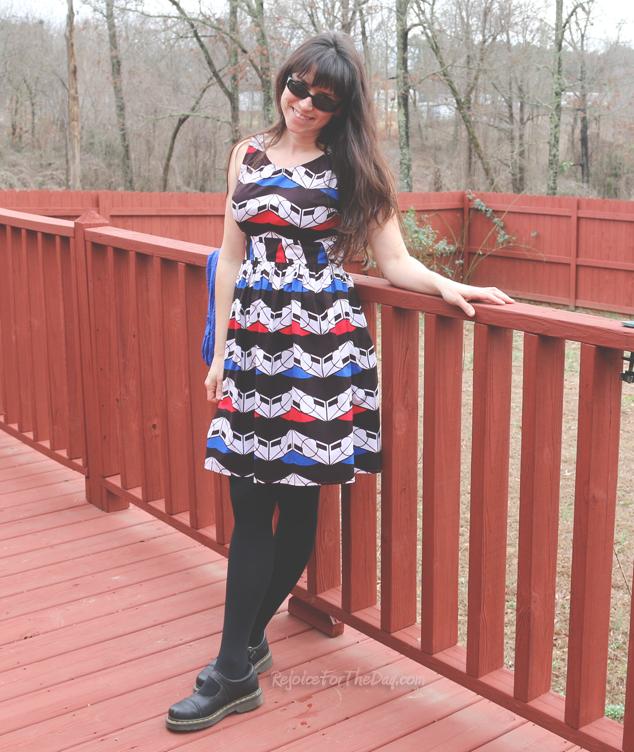 Sew Serendipity dress