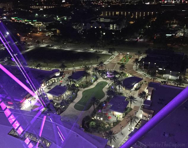 Orlando Eye top view