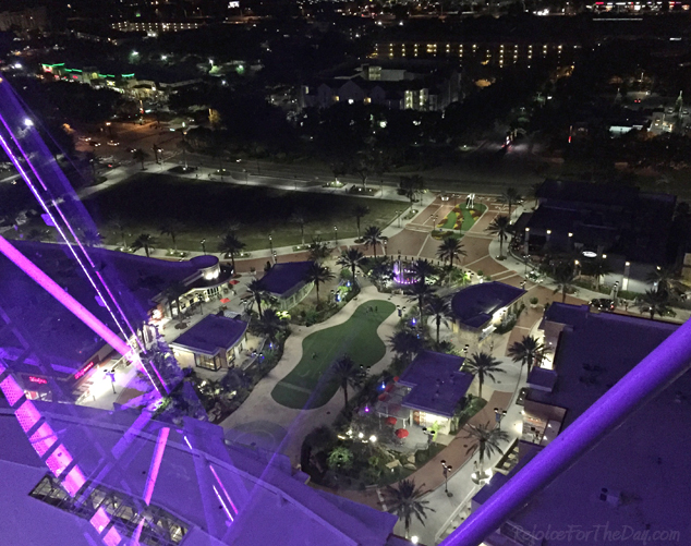 Orlando Eye top view
