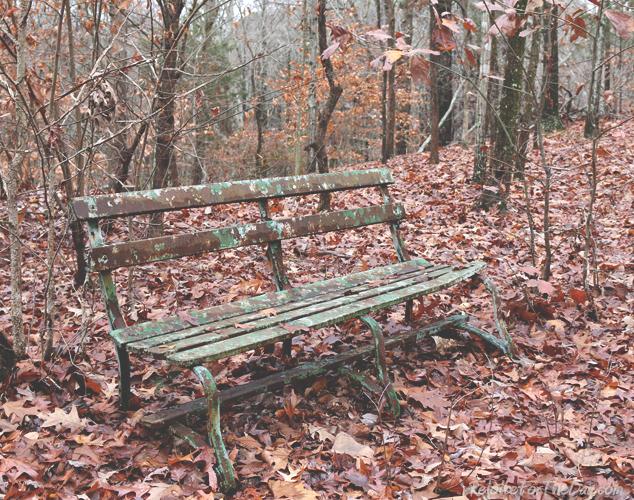 Rusty bench