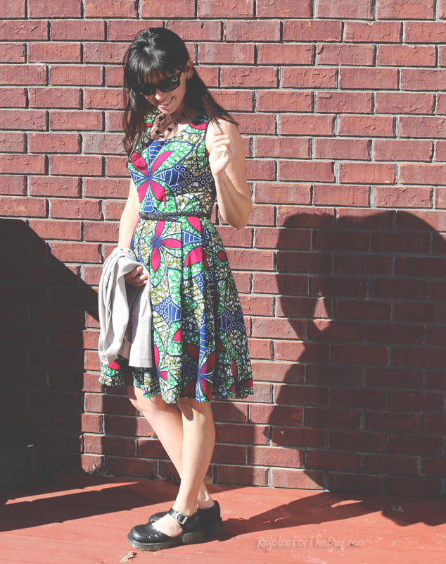 The Kaleidoscope Dress