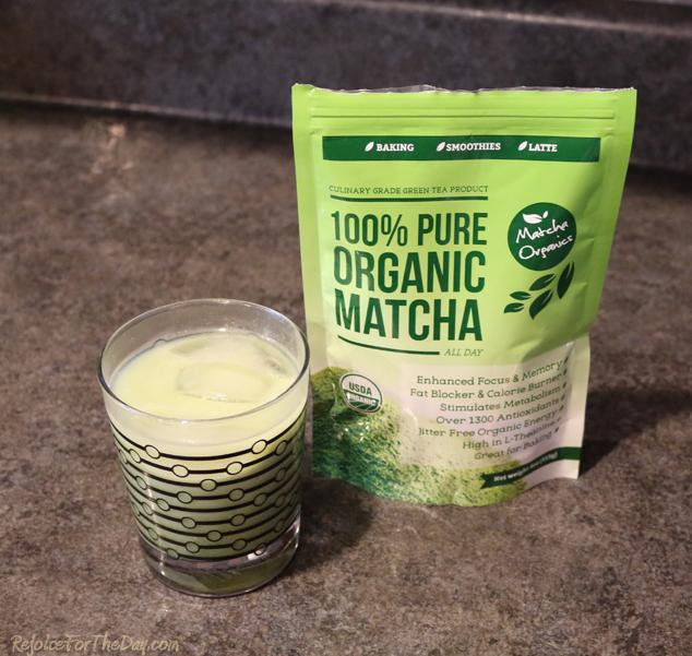 Matcha Organics latte