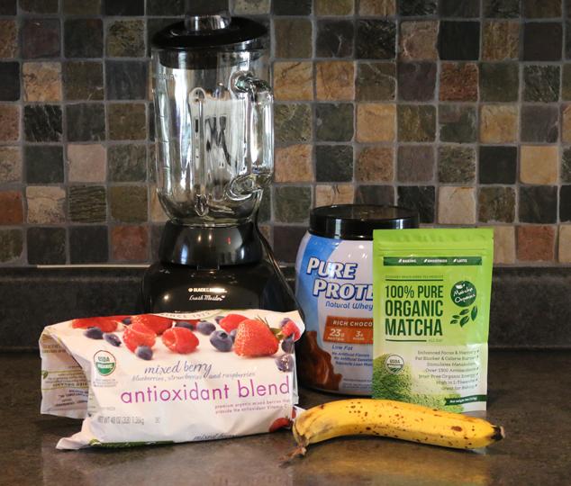matcha organics smoothie indgredients