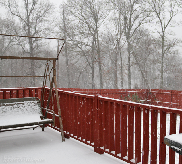 Winter in TN snow