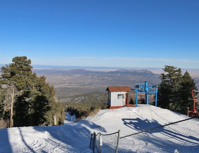 back mountain views