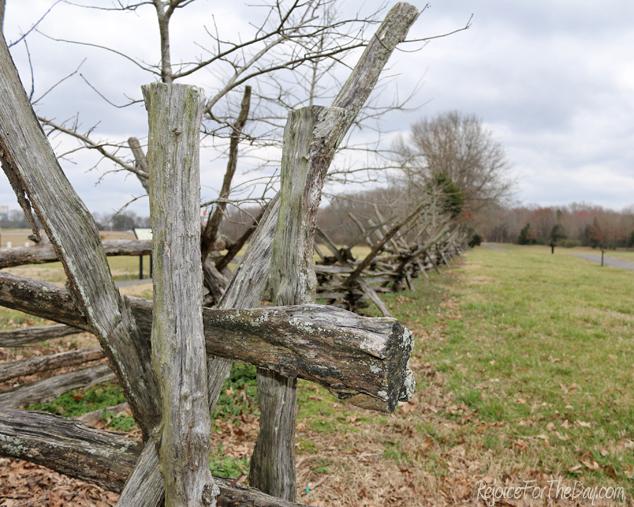 Battleground fence