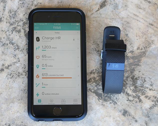 Fit Bit Charge HR app