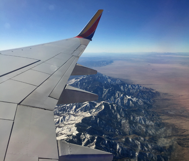 flight back home