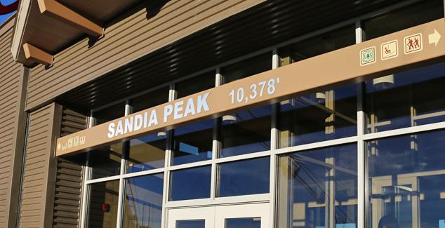 Sandia Peak Elevation