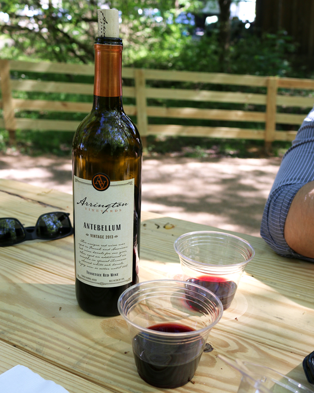 Arrington Vineyards on a Sunday