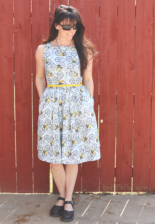 The Floral Bicycle dress 1