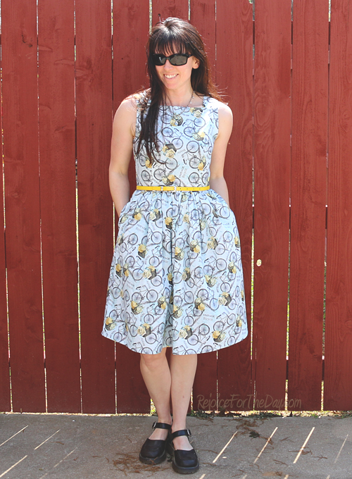 The Floral Bicycle dress 2