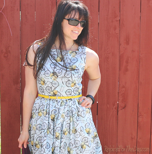 The Floral Bicycle dress 3