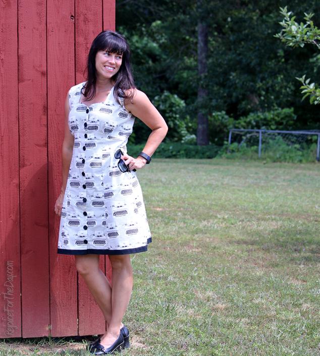 H&M striped dress