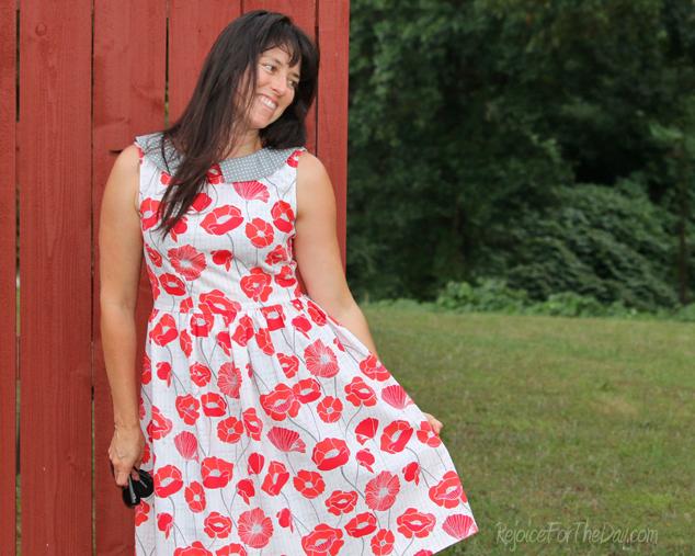 the Vintage Poppy Emery dress 2