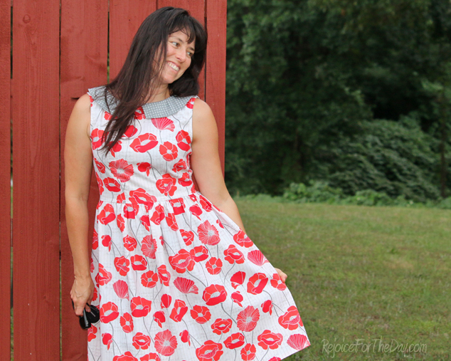 the Vintage Poppy Emery dress 2