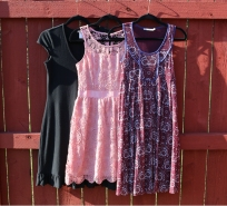 Dresses 63, 64, 65