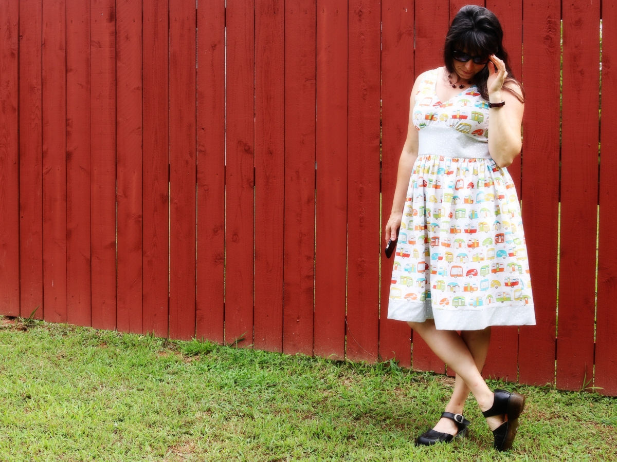 The *Almost* Happy Camper Dress